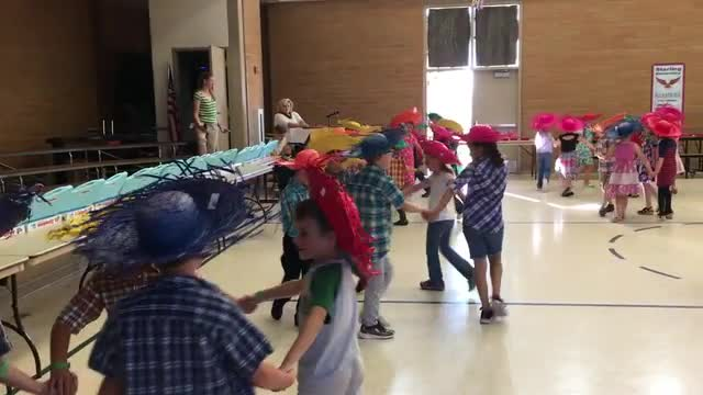 Festa Junina - First Grade Portuguese dance