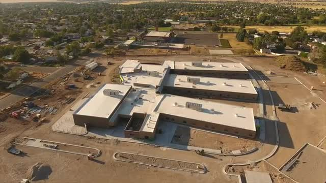 Drone Footage New Building August 2017