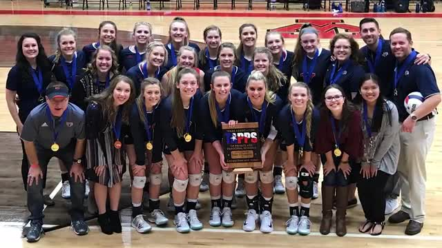TCS State Volleyball champs