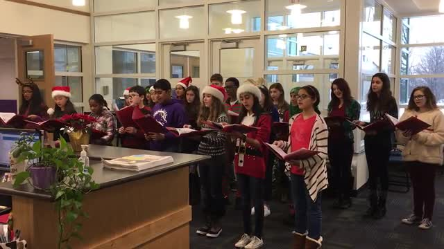 Choir Caroling Dec 2106
