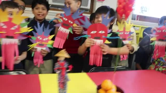 First Grades Celebrate The Chinese New Year