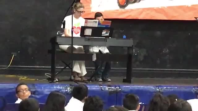 Arts Jam Performance Playing Piano