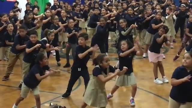 Zumba Dancing at Edison