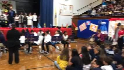 Edison School Hispanic Heritage Assembly/Performance