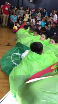 Students celebrating Read Across America event where the students were dressed in the characters of their favorite books