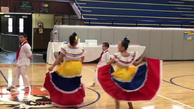 Hispanic Heritage Folkloric Dance