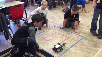 Union 5th Grade Program Robot