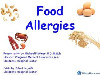 video explaining food allergies