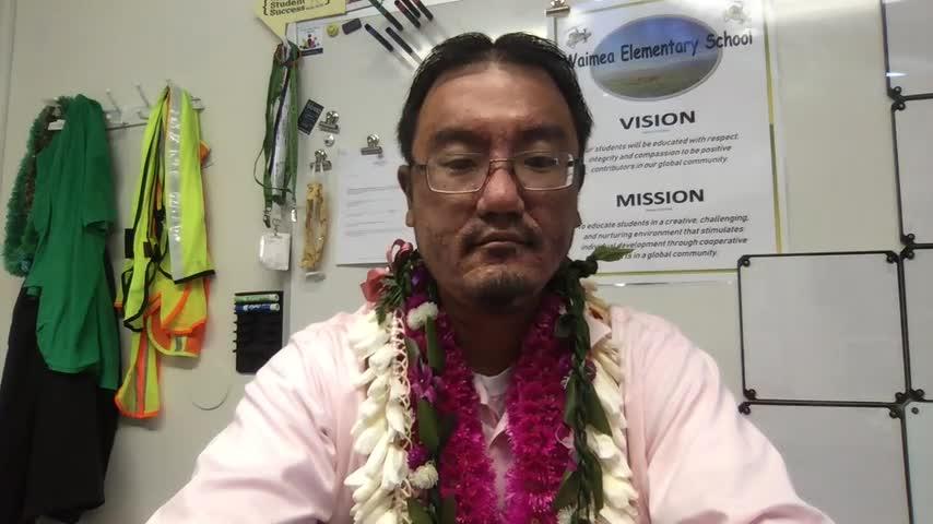Principal Tamuraʻs Message