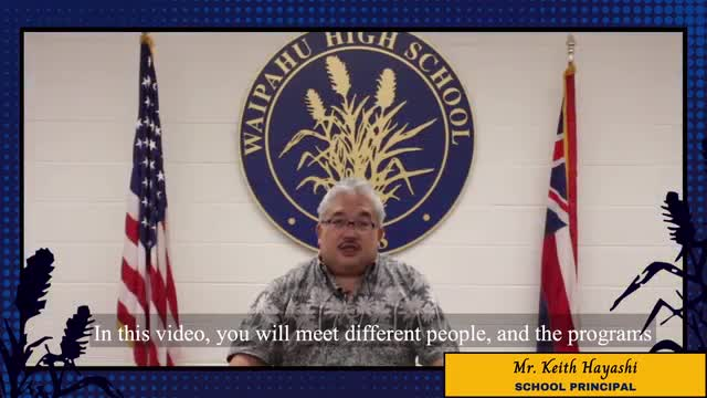 Aloha Waipahu High School Community,  We hope you are staying safe and well. We would like to introduce you to Waipahu High School's faculty, departments, and the programs that collaborate together to help prepare our students for life after high school.  After watching the video, please complete a short survey: https://forms.gle/ysmcG3WNYEZxgvYL7  We are looking forward to hear your feedback, Mahalo!