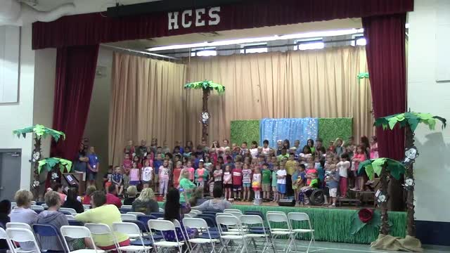 HCES Kindergarten Graduation Assembly 2017