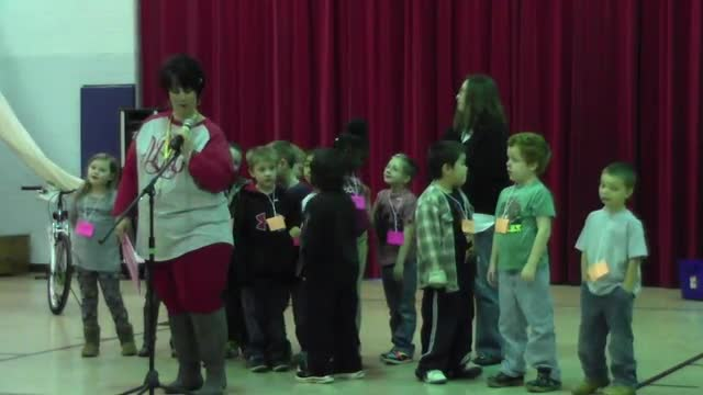 January 29, 2016 West Elementary Celebration part 1