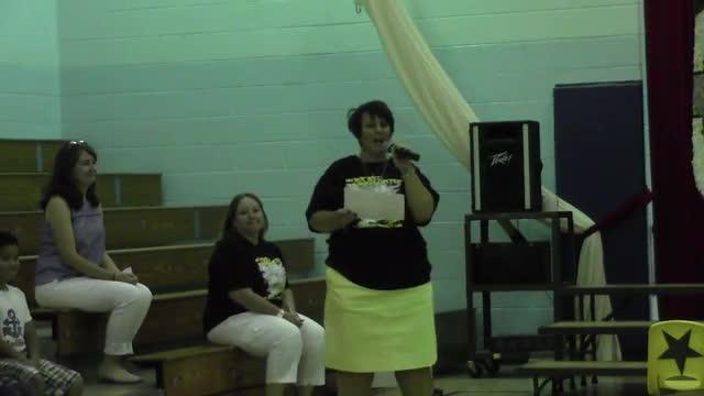 West Elementary Kindergarten Graduation Practice 5/23/16