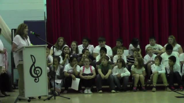 5th Grade Celebration May 24, 2016 Part 2