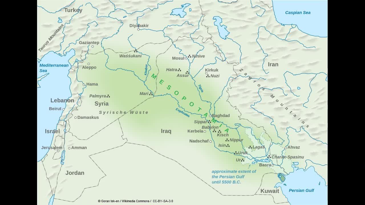 Taurus Mountains Map Geography of Ancient Mesopotamia | Westgate Community School