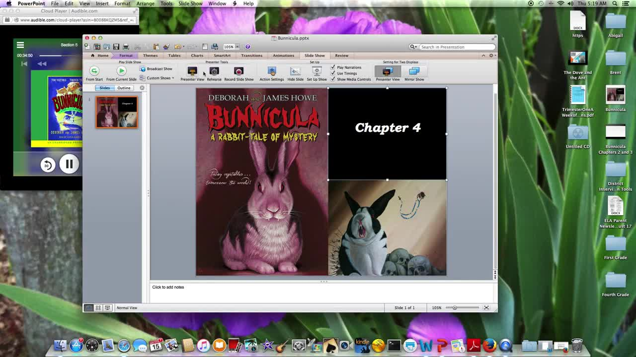 Bunnicula Chapter 4 Westgate Community School White tomatoes reading bunnicula