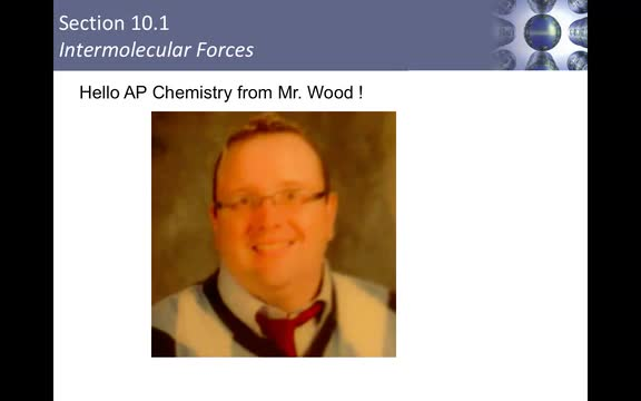 Mr. Wood's Week of May 18 AP Chemistry Lesson Part 2