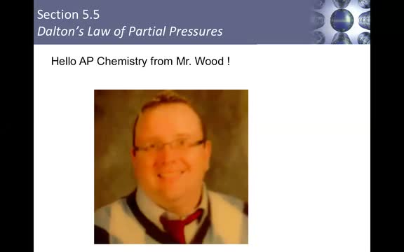 Mr. Wood's Week of May 18 AP Chemistry Lesson Part 1