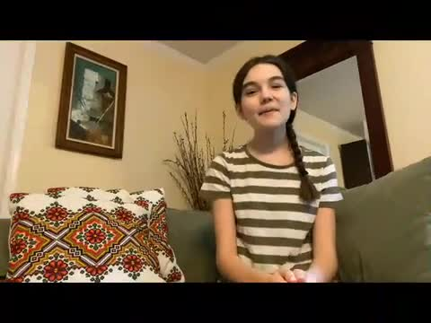 Video of student reading book.