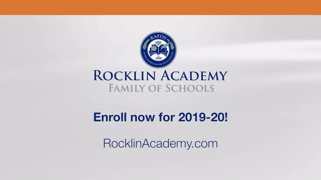 Students talking about Rocklin Academy