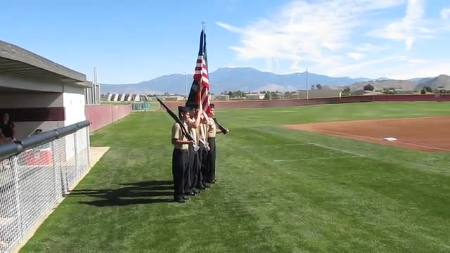 Baseball Color Guard pt1