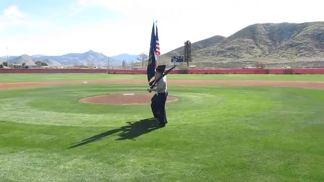 Baseball Color Guard pt2