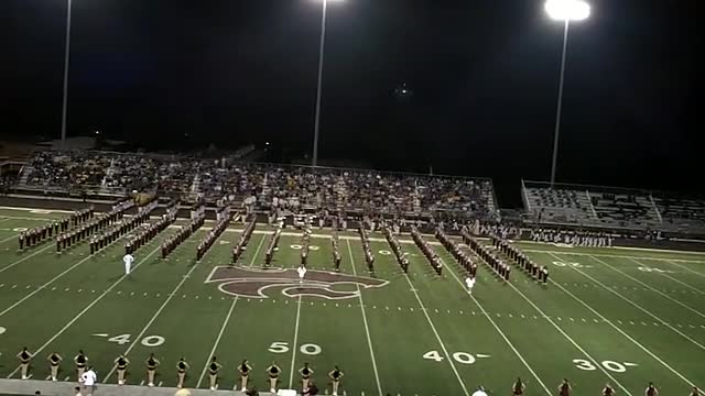 Combined HS/MS Marching Band-2010