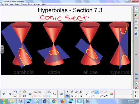 7.3 Notes - Hyperbolas