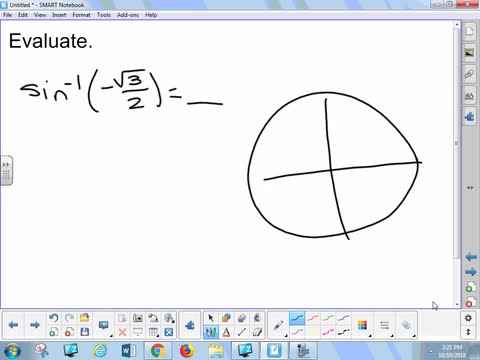 2.3B Lesson - Inverse Trigonometric Functions