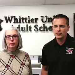 A message from Margie Moriarty, Principal and Juan Anzaldo, Assistant Principal