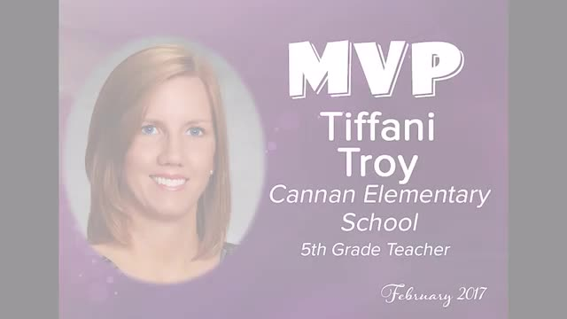 February 2017 MVP - Tiffani Troy