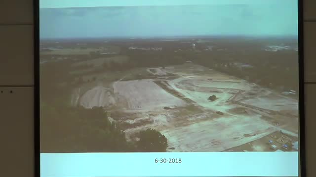 Video of Casey Beddingfield giving an update on the new High School building project.