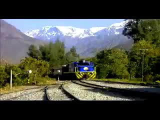 Video of a train