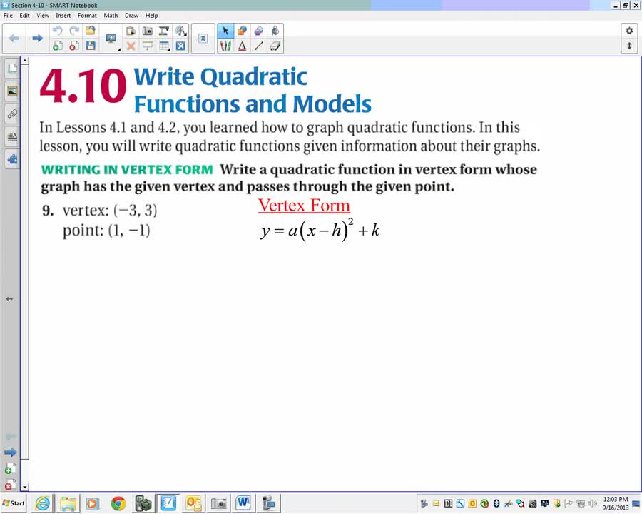 Algebra 2 Section 410 26 Minutes Yankton High School