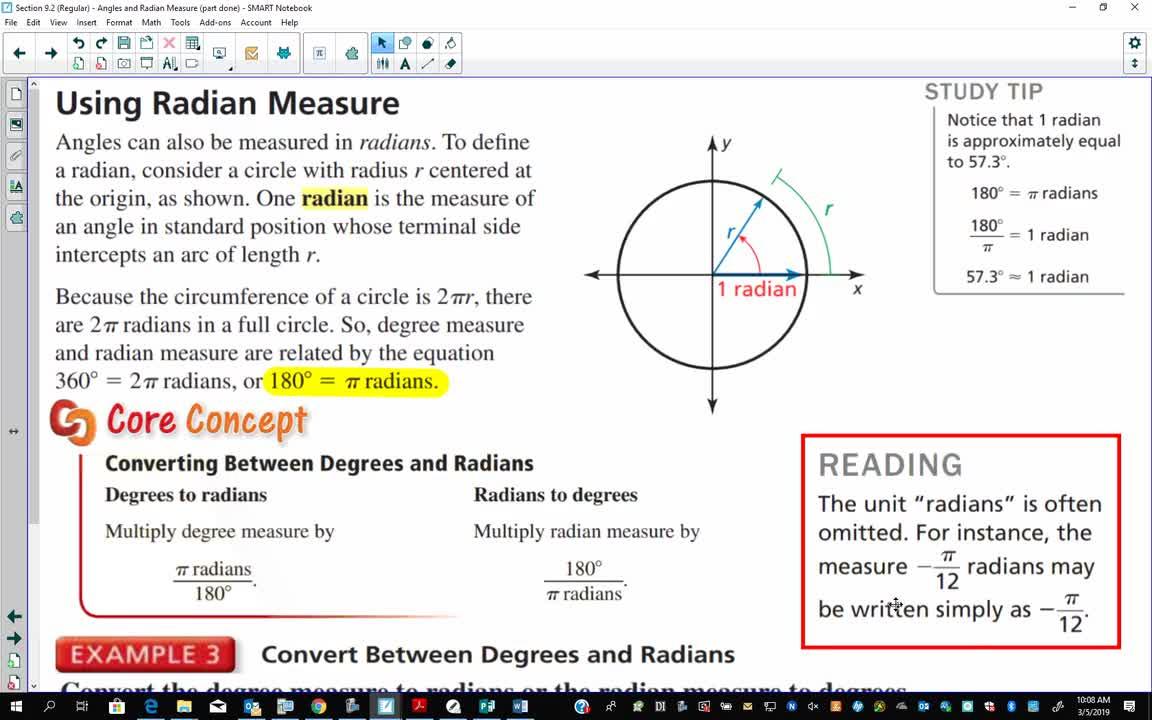 Regular Algebra 2: Section 9 2 - Part 2 (21 minutes