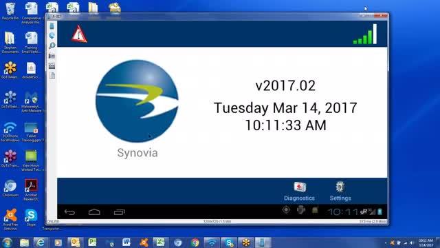 Yankton School Bus Driver Tablet Training